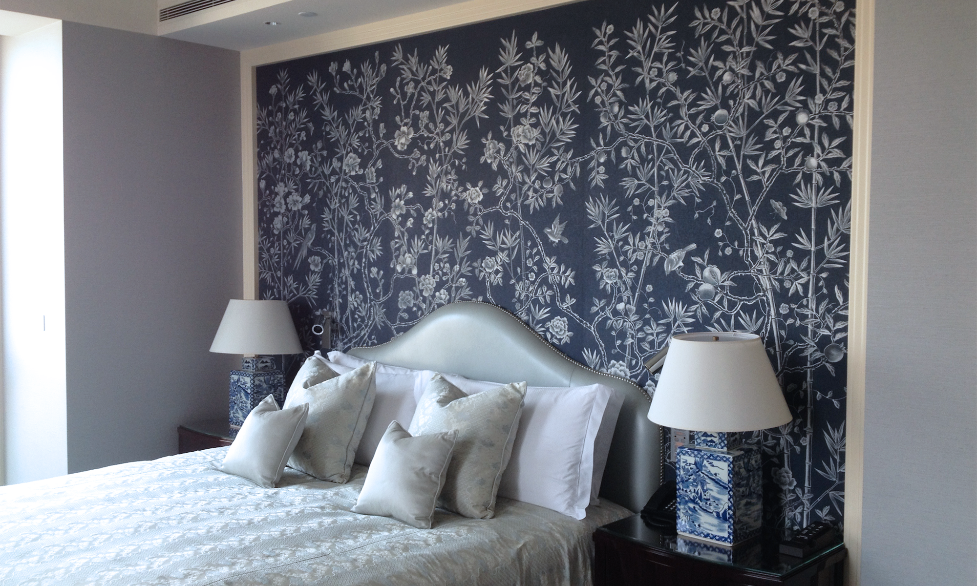 Hand painted wall coverings, suites
