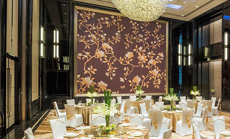 Wall coverings, ballroom
