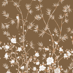 Pheasants and Bamboo-J-01601