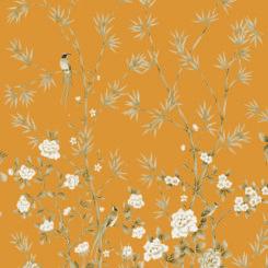 Pheasants and Bamboo-J-01602