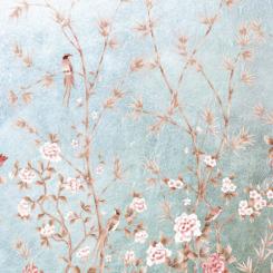 Pheasants and Bamboo-J-01603