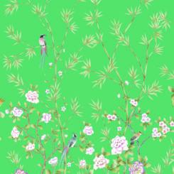 Pheasants and Bamboo-J-01605