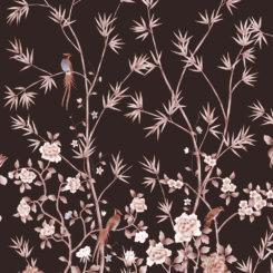 Pheasants and Bamboo-J-01606