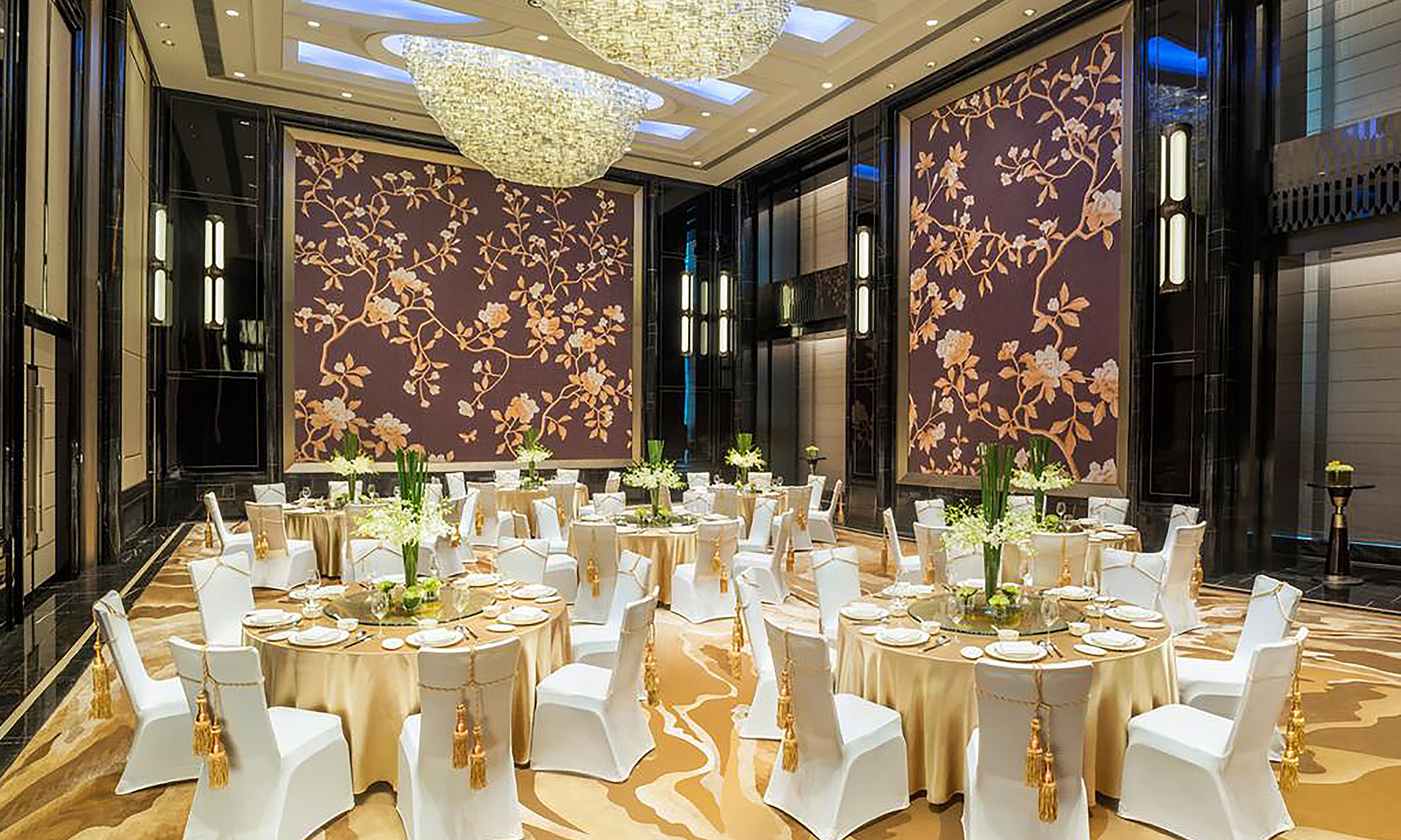 Wall coverings, ballroom